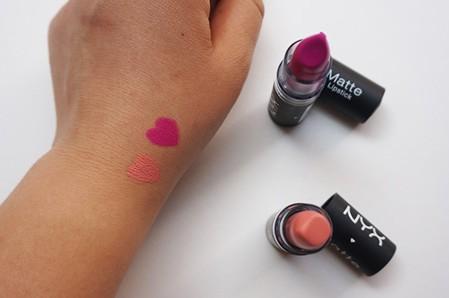 NYX Matt Lipstick Rabab Kelani Blog