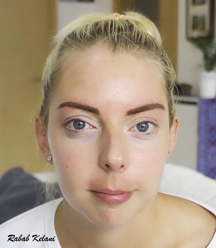 PMU eyebrow - rabab kelani eyebrow artist