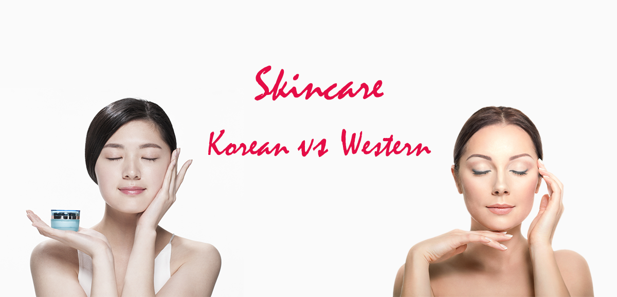 korean skincare vs western skin care