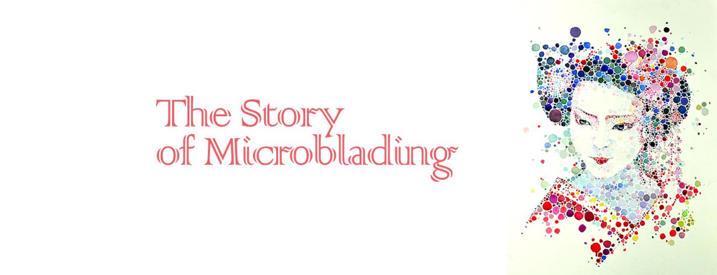 microbladiing or eyebrow embroidery story