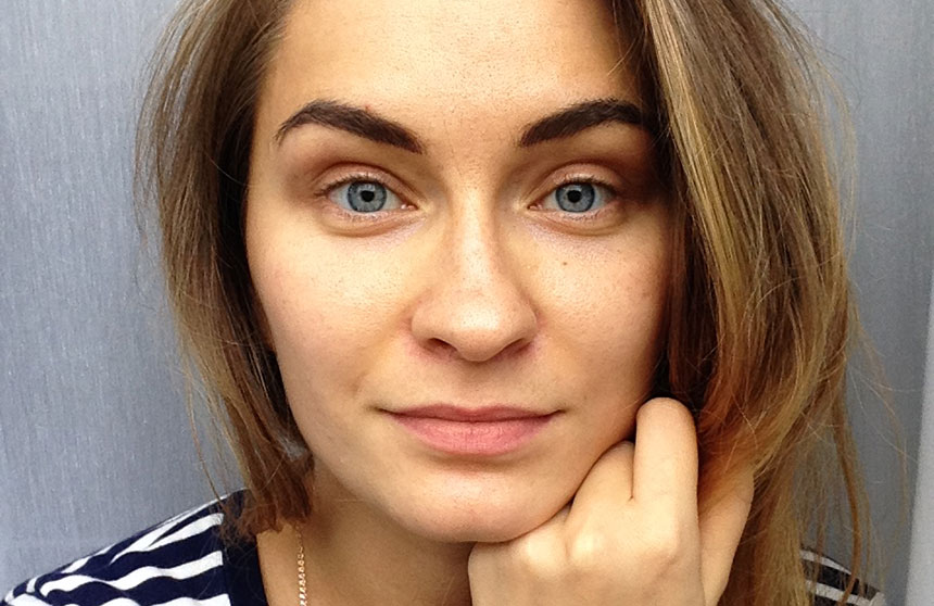 digital eyebrow microblading healing rabab kelani