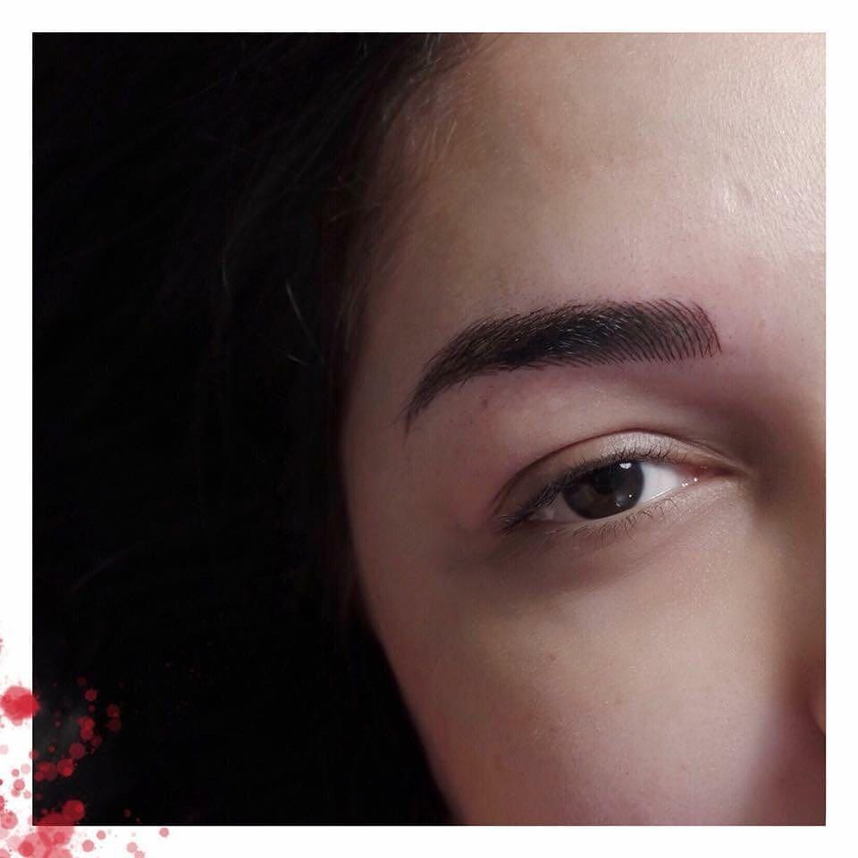 permanent makeup artist egypt rabab kelani