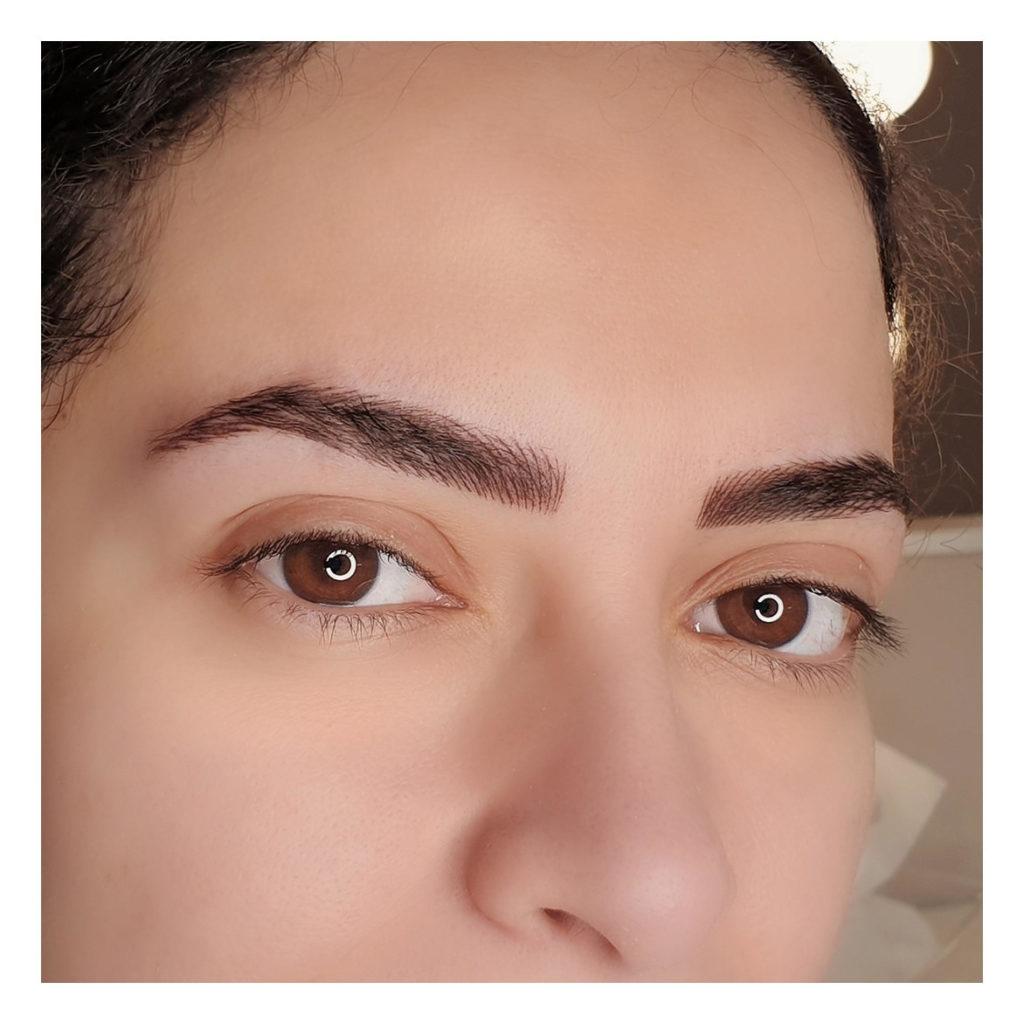 eyebrows micorblading Egypt by Rabab Kelani